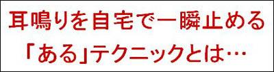 耳鳴り・難聴・めまい改善プログラム「耳鳴りストッパー」 原田貴